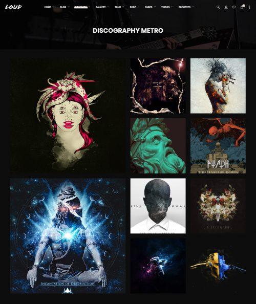 Discography-Metro---Loud